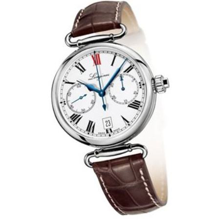 Orologio Longines Heritage Column Wheel Chrono - L27764213