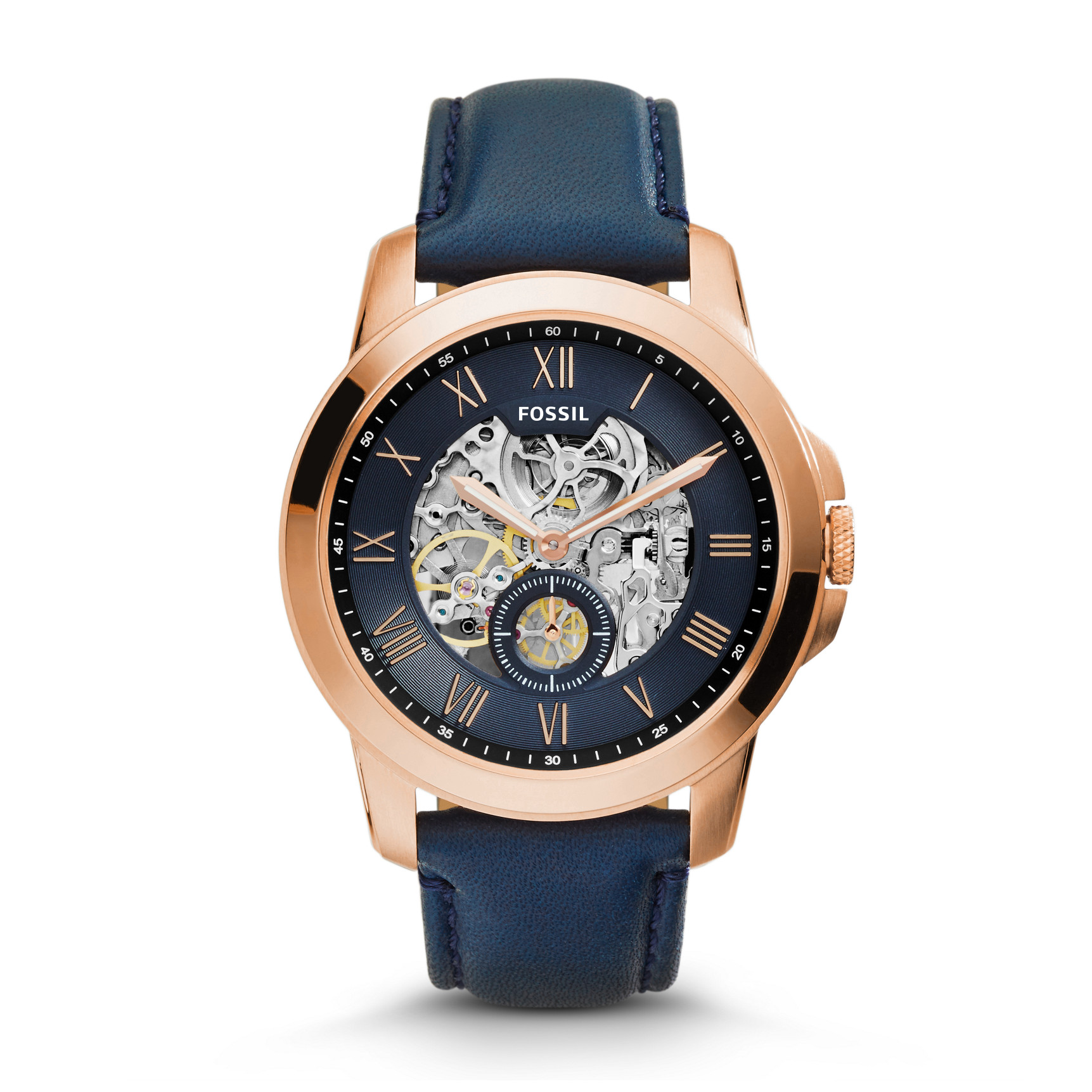Orologio Fossil Grant Automatic Navy ME3054
