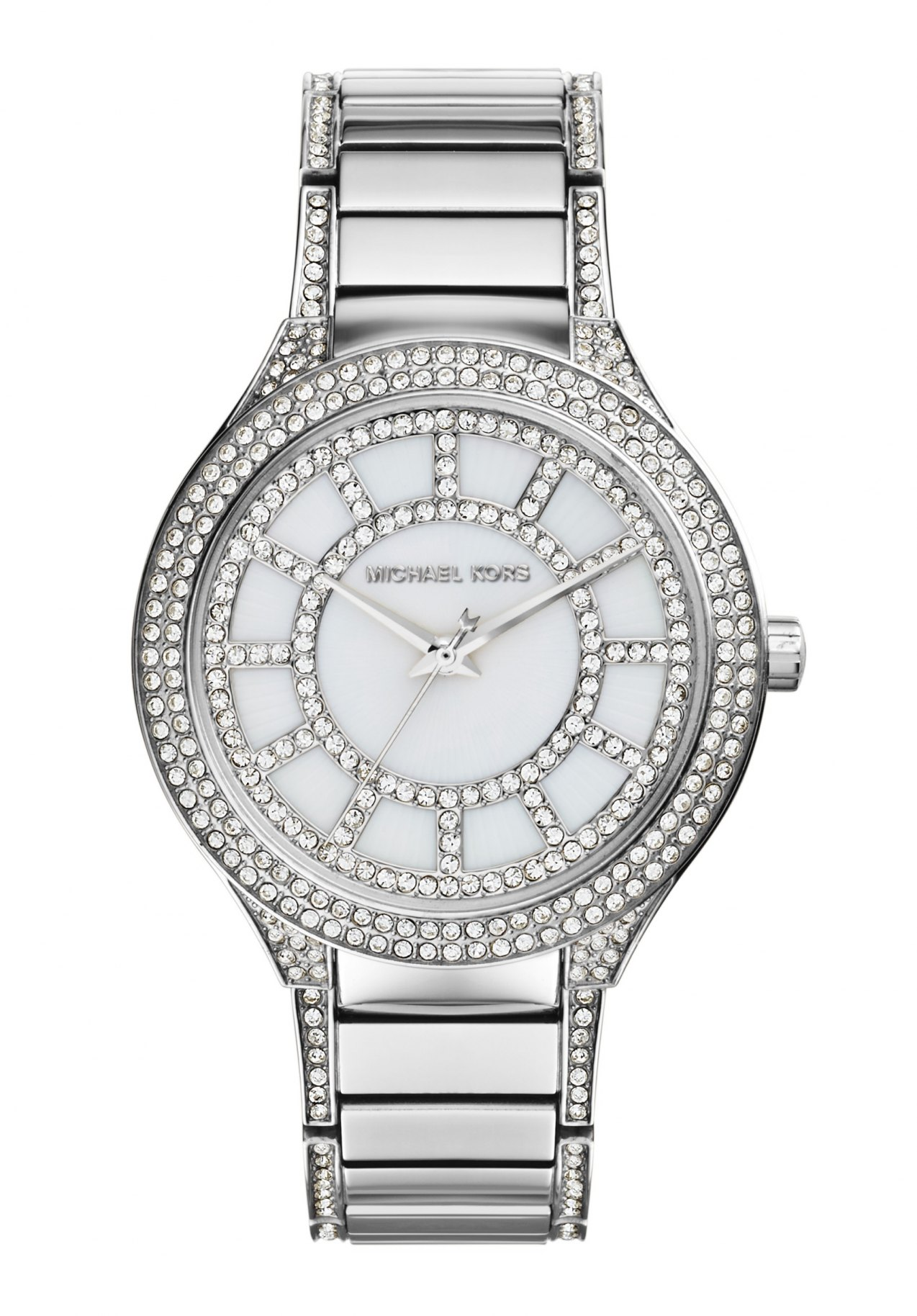 Michael Kors Kerry Silver Tone Watch MK3311 - inverno 2015