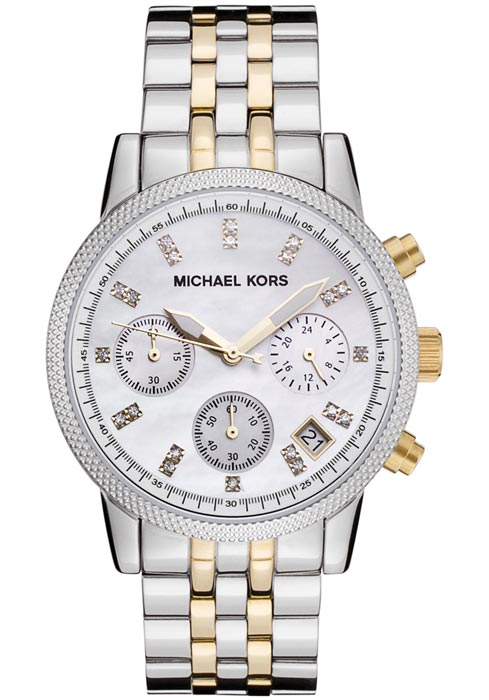 Michael Kors The Ritz Two Tone Chronograph MK5057- inverno 2015
