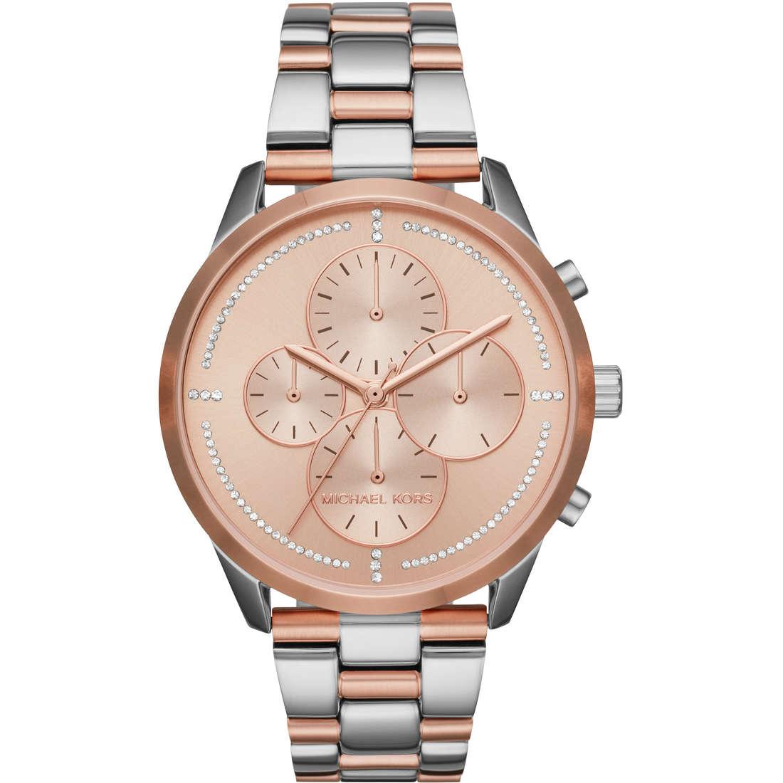 c30fb33441 Orologio cronografo donna Michael Kors Slater MK6520