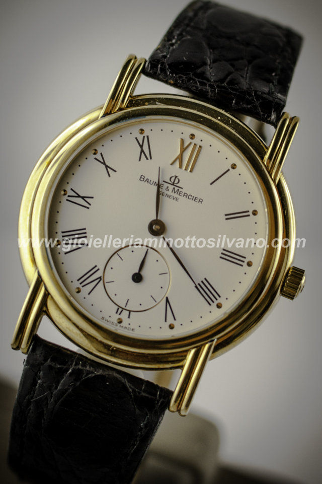 OROLOGIO in Oro 18 k BAUME & MERCIER 34mm MOA04703