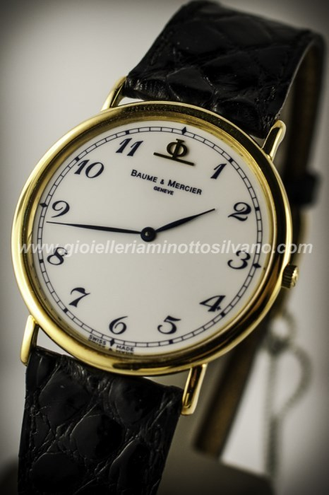 OROLOGIO in oro 32mm BAUME & MERCIER MOA04945
