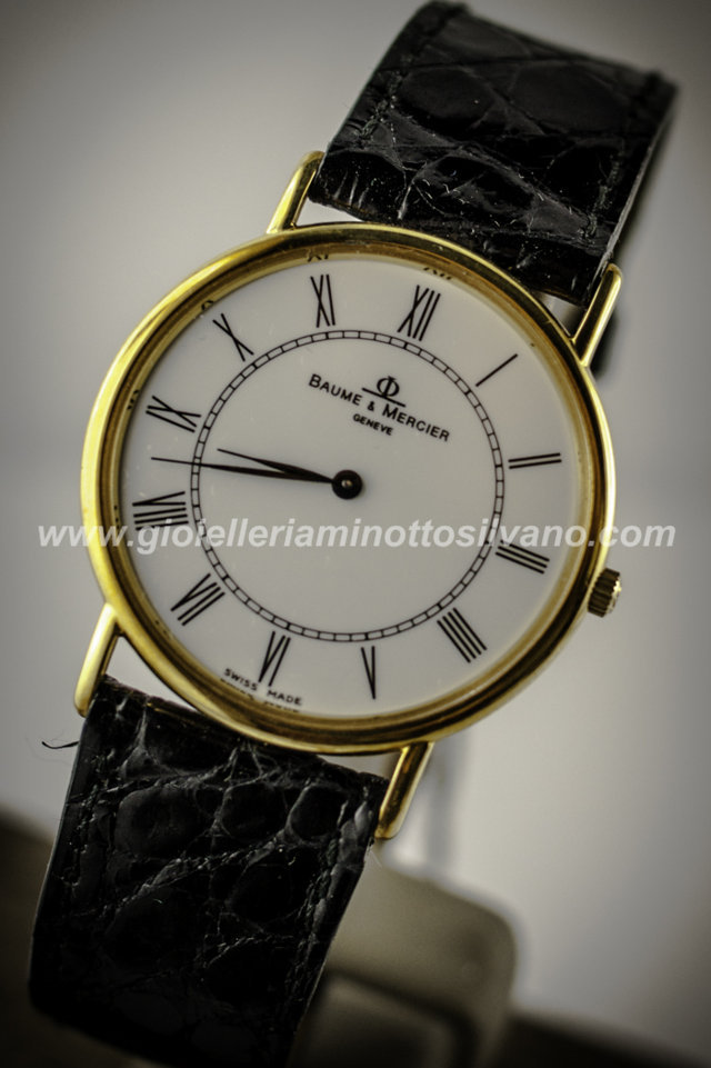 Orologio in Oro 18 Carati BAUME & MERCIER 29 mm MOA04950