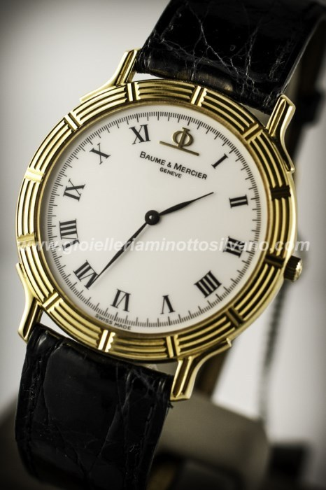 Orologio in oro 18kt Baume & Mercier 32mm MOA05268