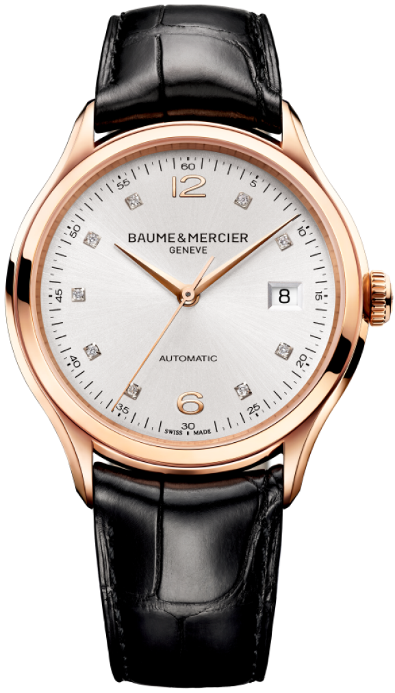 Orologio in Oro Baume & Mercier Clifton 39mm # 10104