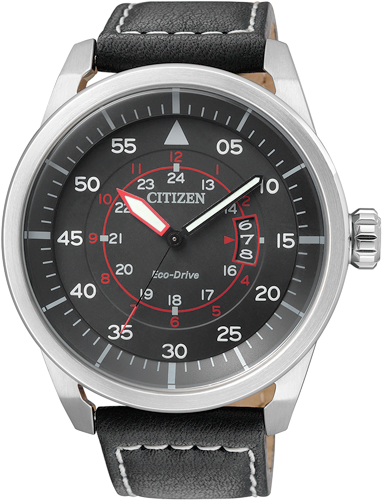 Orologio Citizen Aviator Nero AW1360-04E