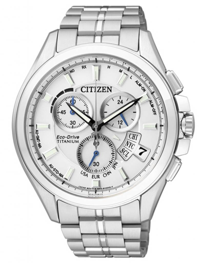 Orologio Citizen Radiocontrollato Evolution 5 Bianco BY0050-58A