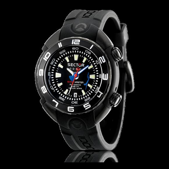Orologio sector shark master limited edition 90pz for Orologi artigianali svizzeri