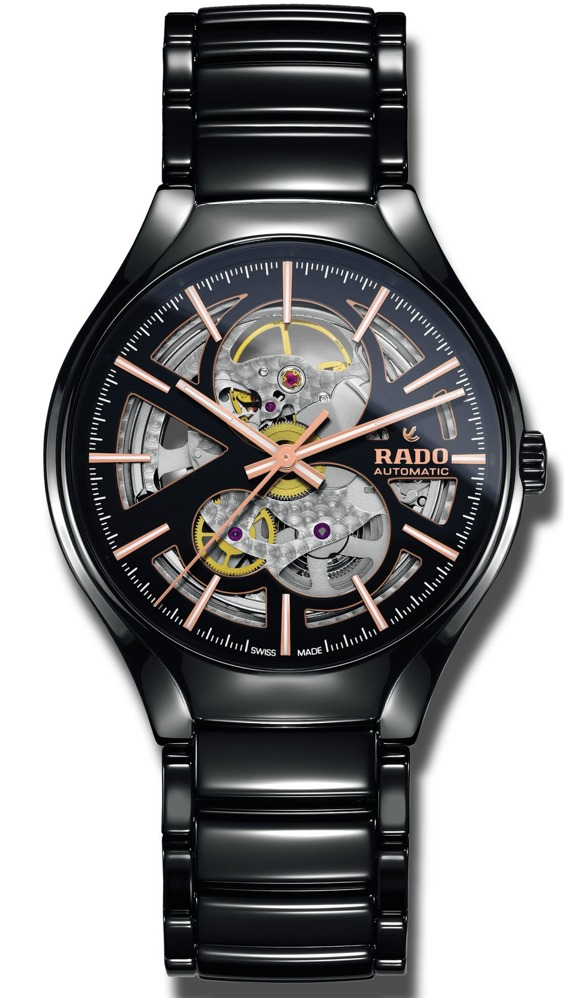 Orologio Rado True Black Skeleton Automatic R27100162
