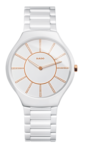 Rado True Thinline Rose Gold - R27957702 - 2017