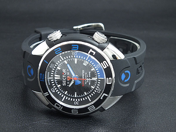 Orologio Sector Shark Master 1000 mt Limited Ed 90pz R3251178025