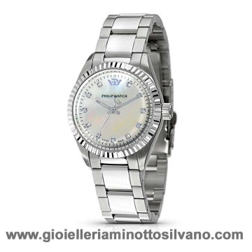 OROLOGIO CARIBBEAN PHILIP WATCH DONNA CON DIAMANTI R8253107765