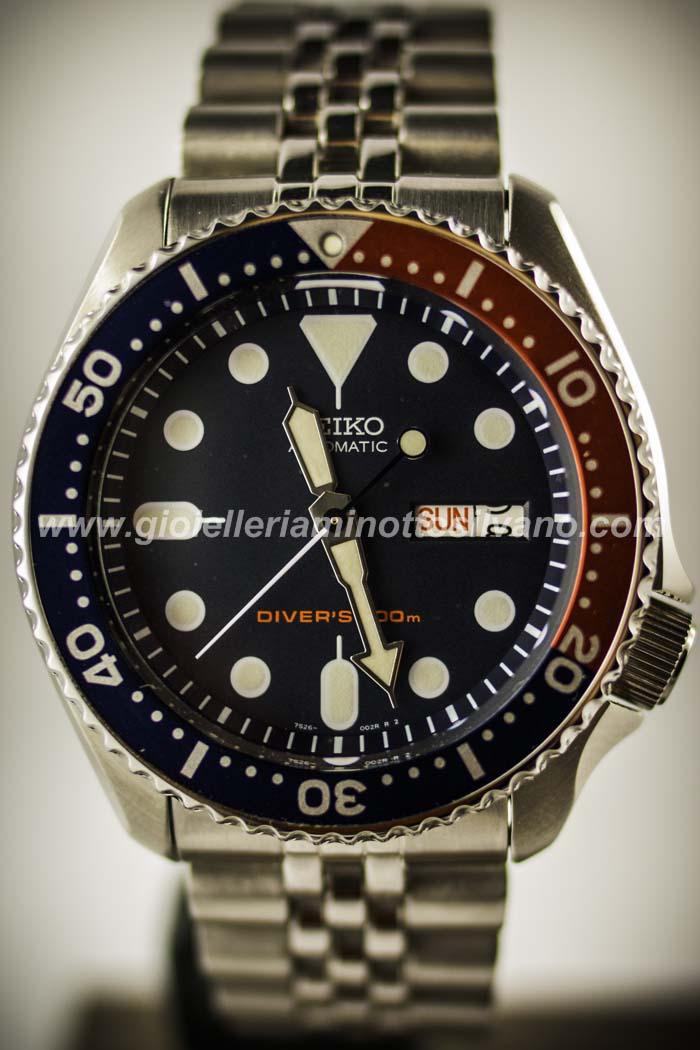 orologio automatico seiko diver 39 s 200 mt skx009k2