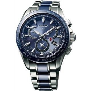 CRONOGRAFO SOLAR GPS DUAL TIME GENT 45 MM SSE043J1