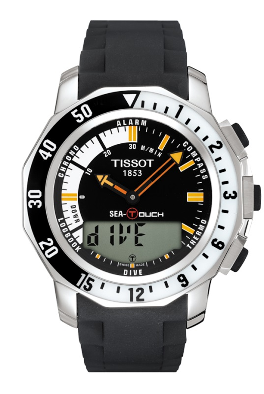 Orologio Divers Tissot Sea-Touch - T0264201728100