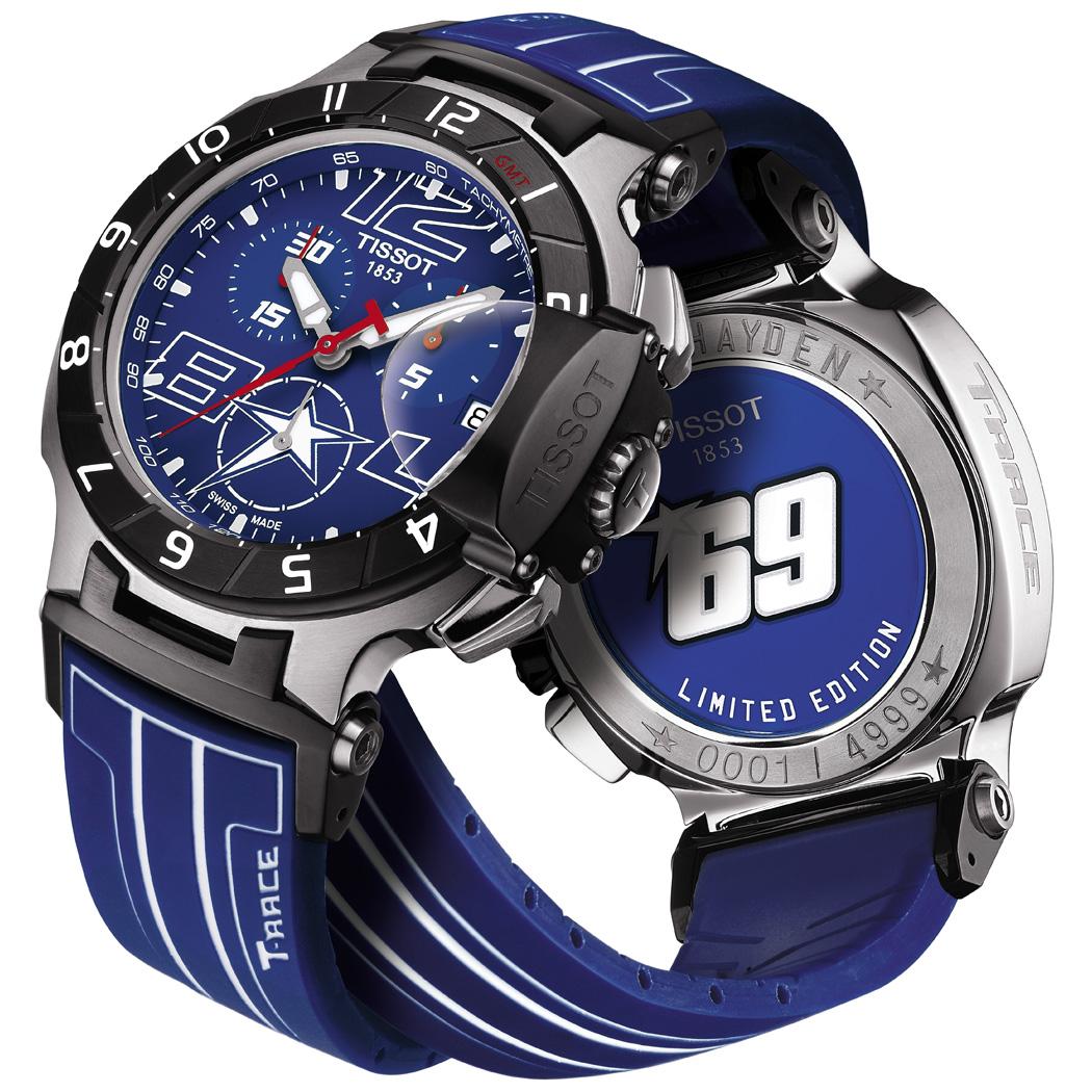 Tissot Orologi Orologio T Race Ladies T0482171701700 Nicky Hayden 2014 T0484172704700
