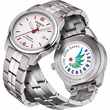 Orologio Tissot PR 100 ASIAN GAMES Automatic Lady T0493071103701