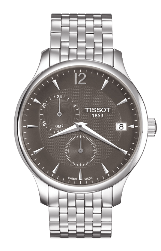 Orologio Tissot TRADITION GMT T0636391106700