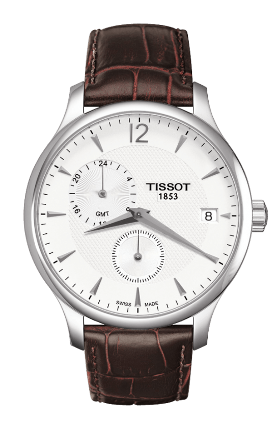 Orologio Tissot TRADITION GMT T0636391603700