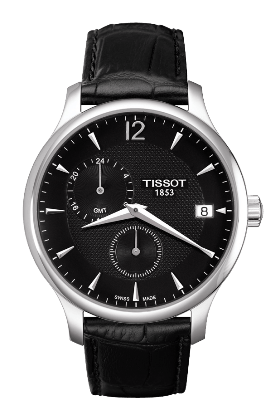Orologio Tissot TRADITION GMT - T0636391605700