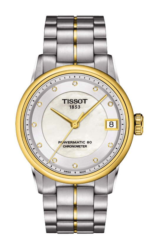 OROLOGIO Tissot LUXURY AUTOMATIC Lady COSC T0862082211600