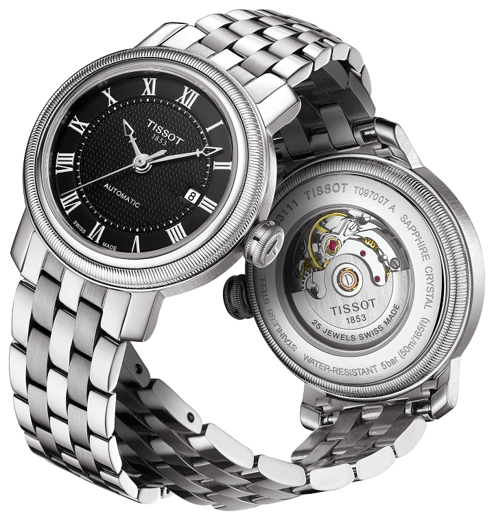 Orologio Tissot BRIDGEPORT AUTOMATIC T097.407.11.053.00