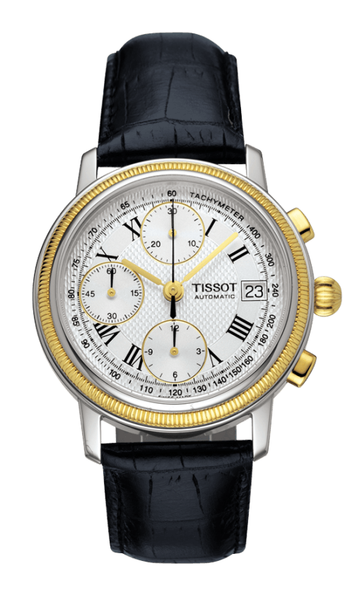 Orologio in oro Tissot BRIDGEPORT AUTOMATIC T71042733