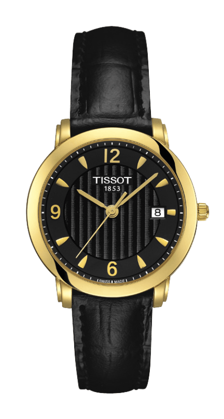 Orologio in oro Tissot SCULPTURE LINE LADY T71313454