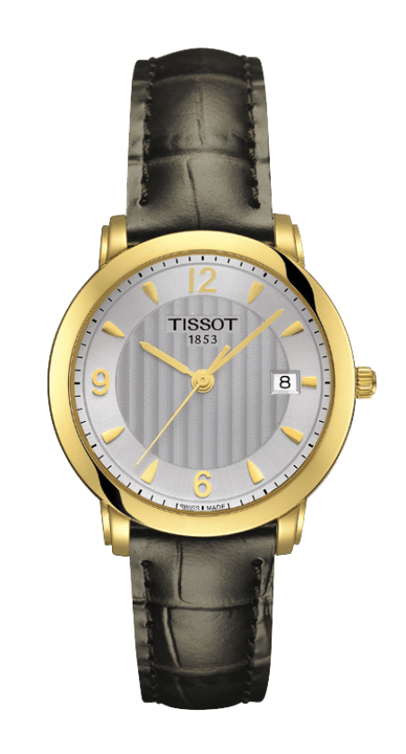 Orologio in oro Tissot SCULPTURE LINE LADY T71313464