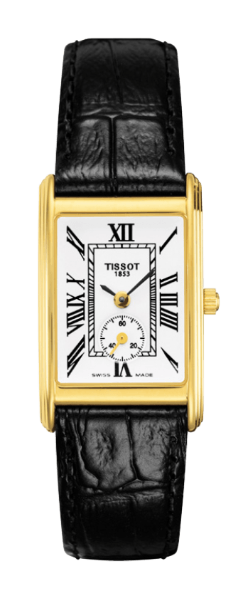 Orologio in oro Tissot NEW HELVETIA Lady small second T71331013