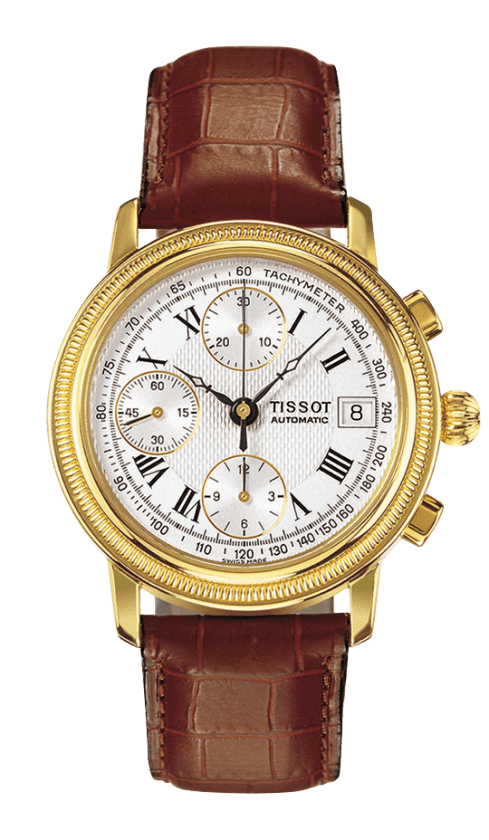 Orologio in oro Tissot BRIDGEPORT AUTOMATIC T71343533
