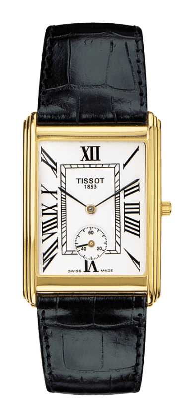 Orologio in oro Tissot NEW HELVETIA Gent small second T71361013