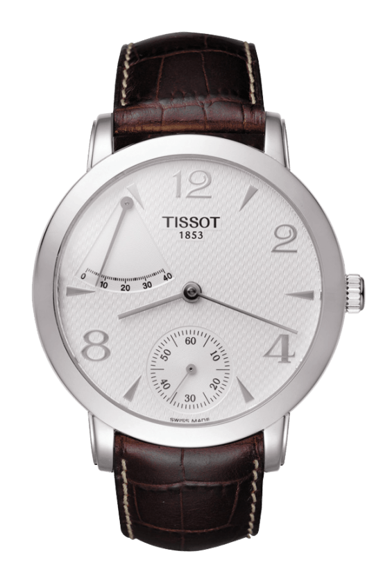 Orologio in oro Tissot SCULPTURE LINE POWER RESERVE T71546134