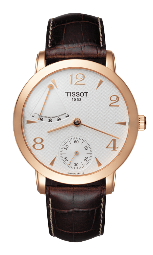 Orologio in oro Tissot SCULPTURE LINE POWER RESERVE T71846134
