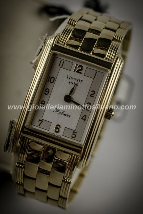 OROLOGIO IN ORO DA DONNA TISSOT 19X29mm - T73331412