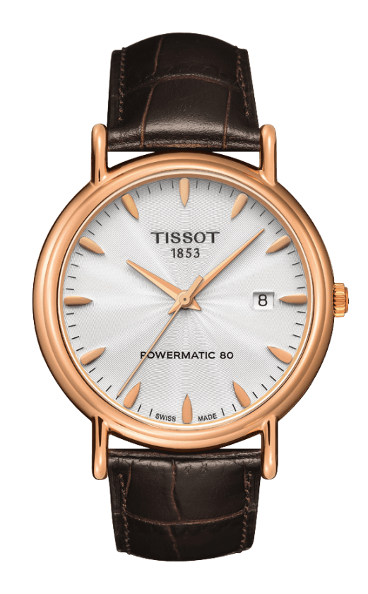 Orologio in oro Tissot CARSON POWERMATIC T9074077603100