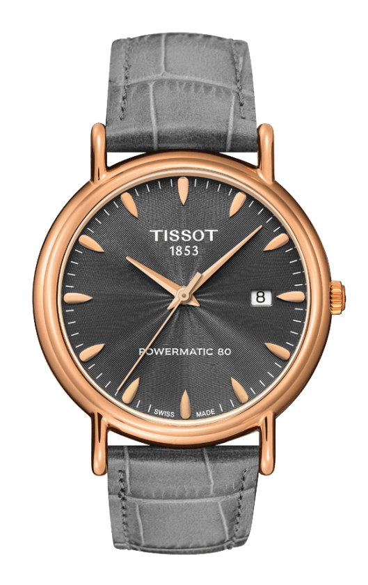 Orologio in oro Tissot CARSON POWERMATIC T9074077608100