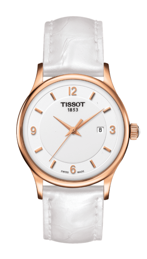 Orologio in oro Tissot ROSE DREAM QUARTZ LADY T9142104601700