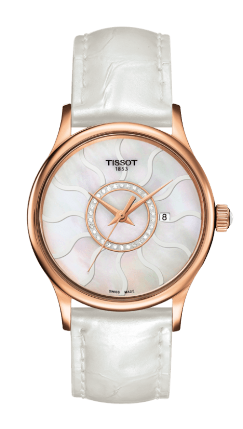 Orologio Tissot ROSE DREAM LADY GOLD & STEEL T9142104611600