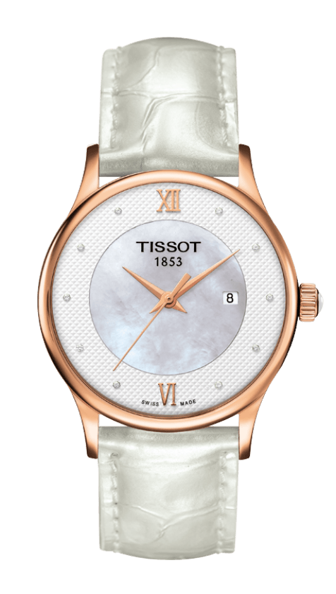 Orologio in oro Tissot ROSE DREAM QUARTZ LADY T9142107611600