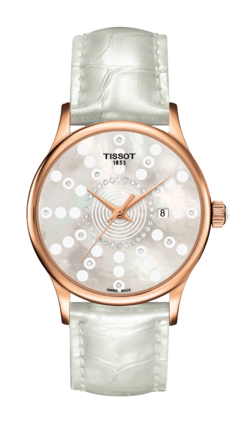 Orologio in oro Tissot ROSE DREAM QUARTZ LADY T9142107611601