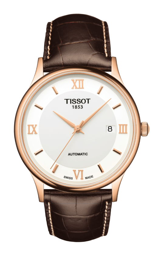 Orologio in oro Tissot ROSE DREAM AUTOMATIC T9144077601800