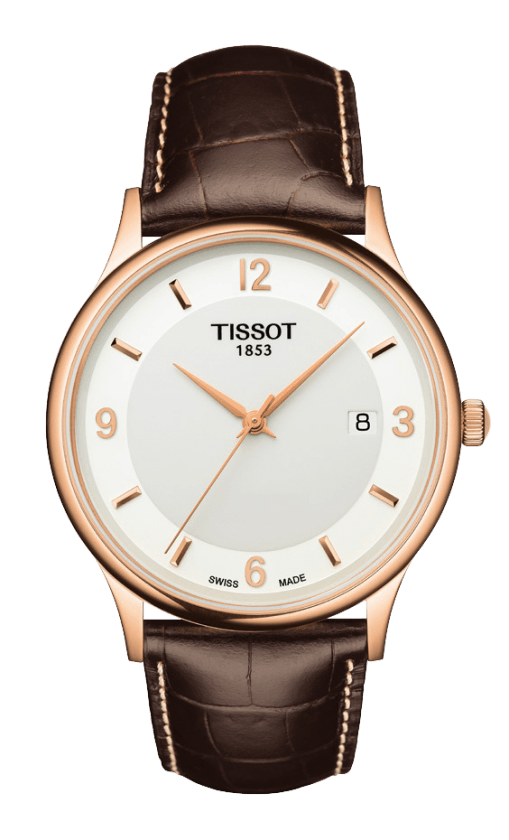 Orologio in oro Tissot ROSE DREAM QUARTZ GENT T9144107601700