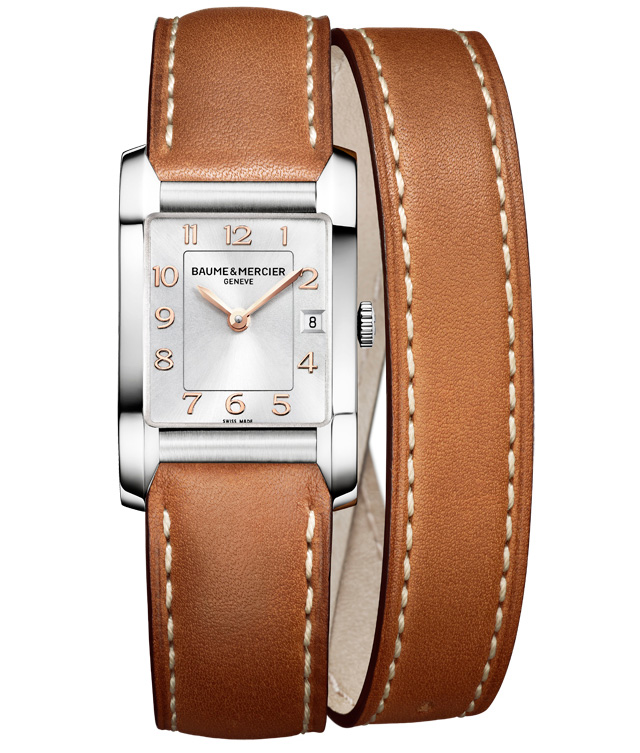 Orologio Donna Baume Mercier Hampton Quarzo 34,5 x 22mm # 10110