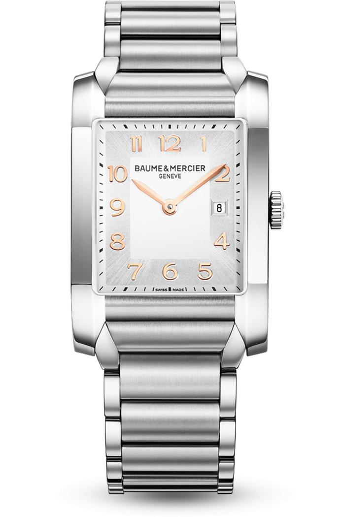 Orologio Donna Baume Mercier Hampton Quarzo 40 x 27 mm # 110020