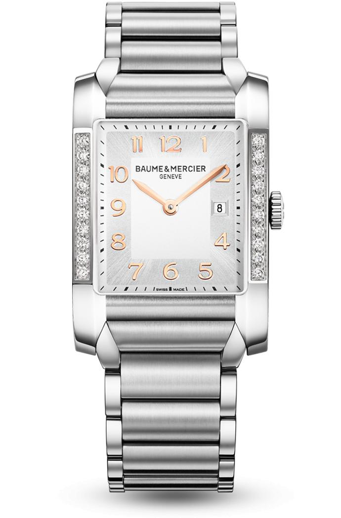 Orologio Donna Baume Mercier Hampton Quarzo 40 x 27 mm # 10023