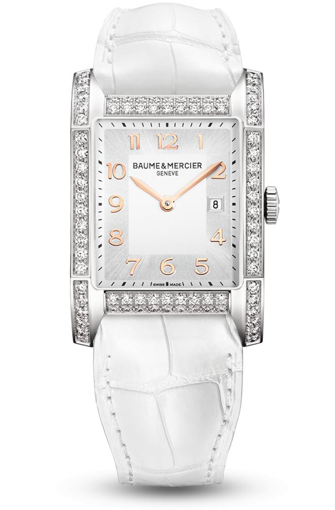 Orologio Baume Mercier Hampton Diamond Quarzo 40 x 27mm # 10025