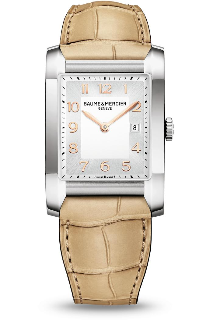 Orologio Baume Mercier Hampton Donna Quarzo 34,5 x 22mm # 10081