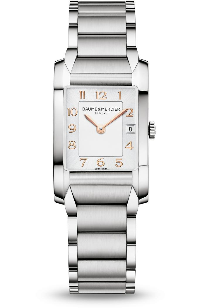 Orologio Donna Baume Mercier Hampton Quarzo 34,5 x 22mm # 10049